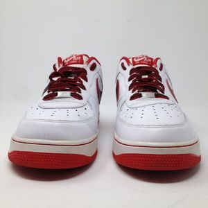 Nike Shoes - Nike Air Force 1 AF1 White Red Men 13 Sneakers